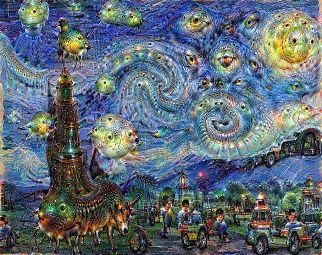 AI can paint pictures