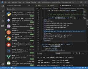 Visual Studio Code interface window