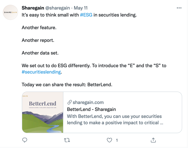Sharegain Screenshot 1