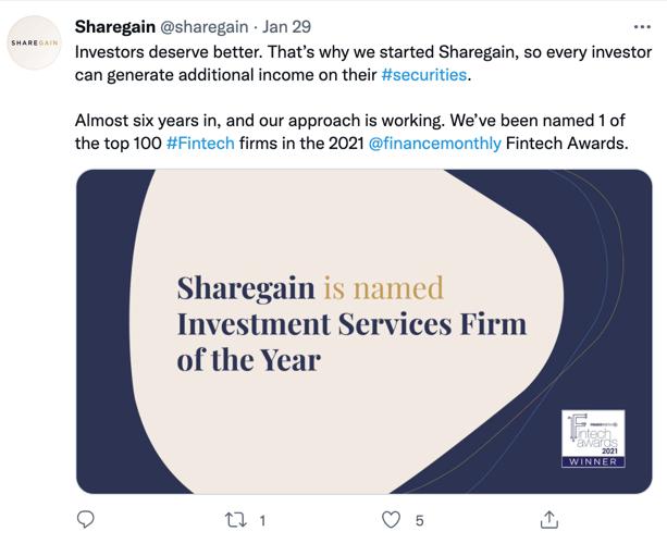 Sharegain Screenshot 2