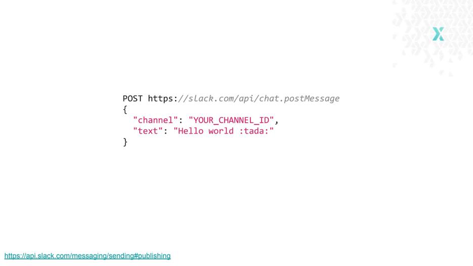 Slack API pox