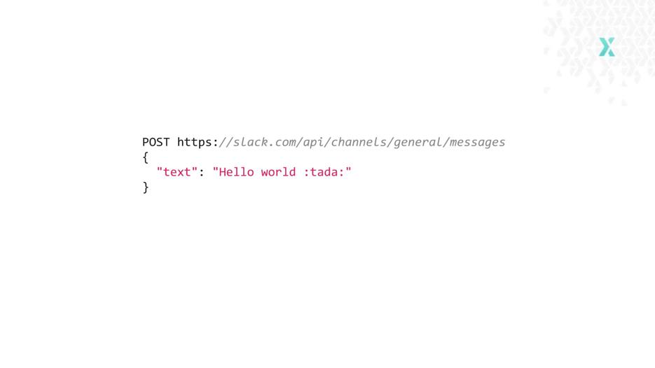 Slack API resource