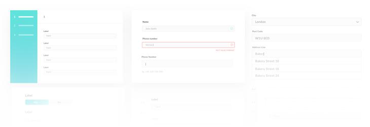 Application Form Design