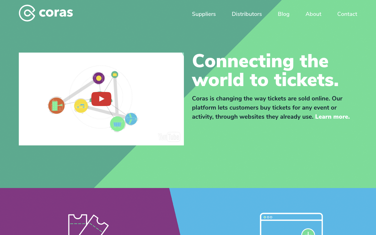 Platform connecting ticket distributors with clients - Ireland Ticketing Project - Coras - Case Study