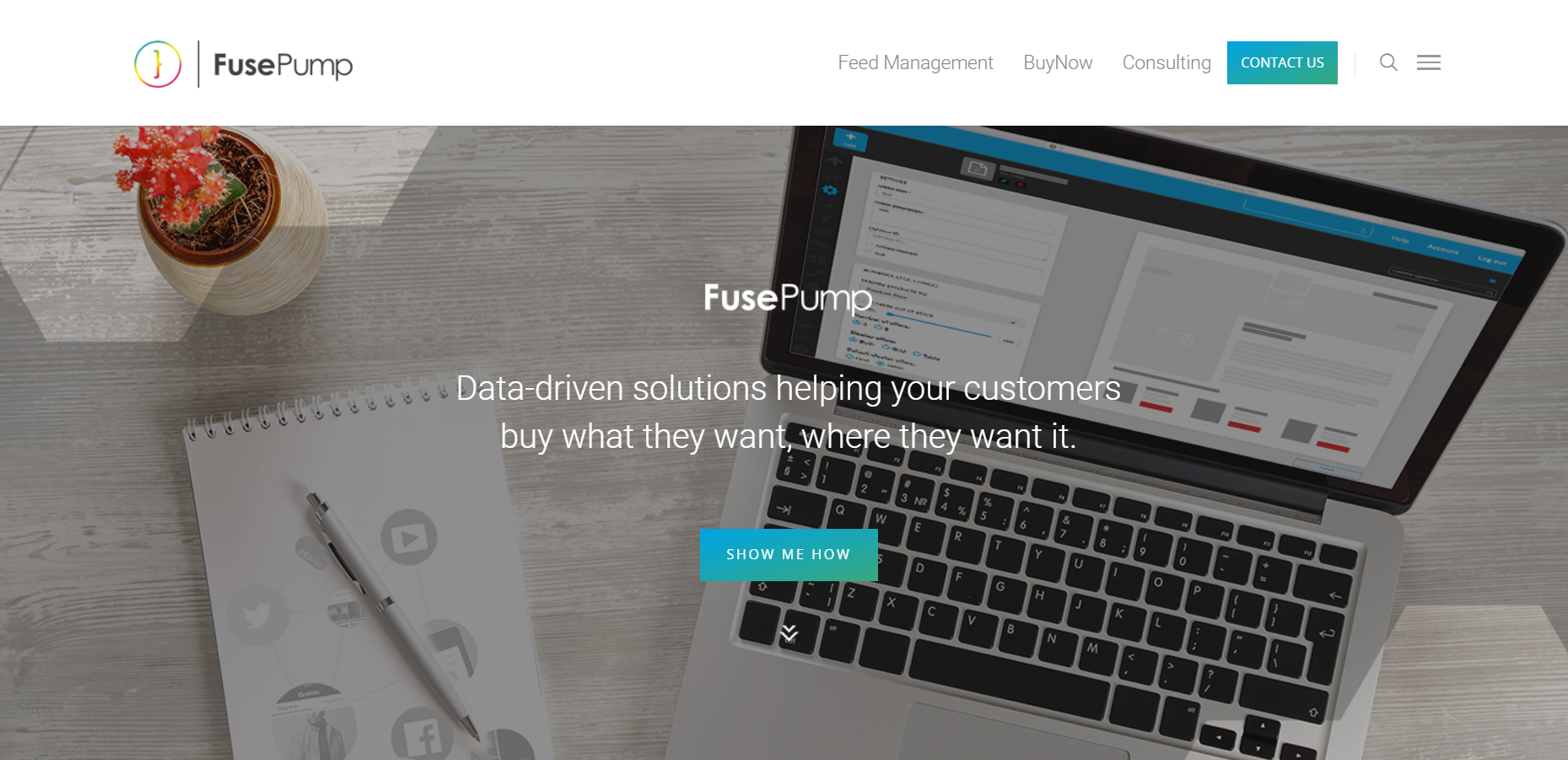 Platform for building and sharing customized ecommerce modules built with Python and Angular - UK Advertising Project - FusePump - Case Study