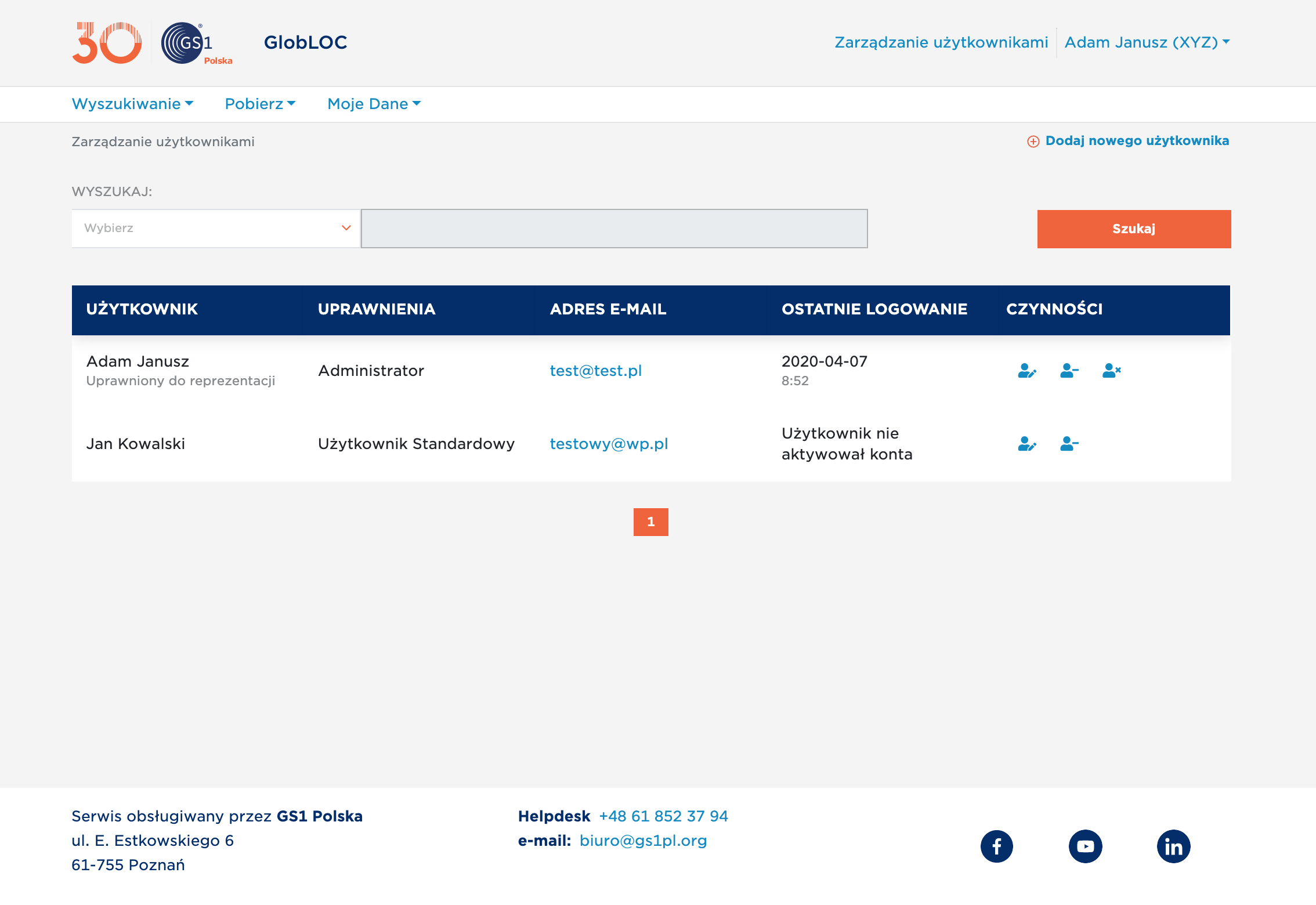 GS1 Poland - Transport Networks Registry App - Case Study