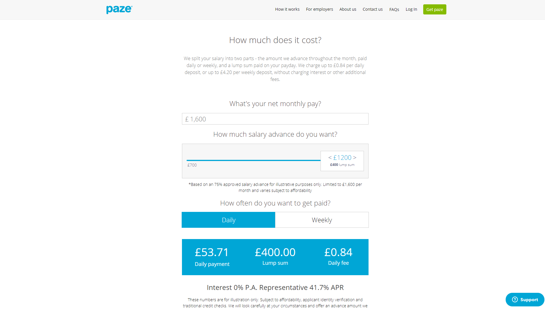 Web and Mobile App (iOS, Android) - for salaries management - UK Fintech Project - Paze - Case Study
