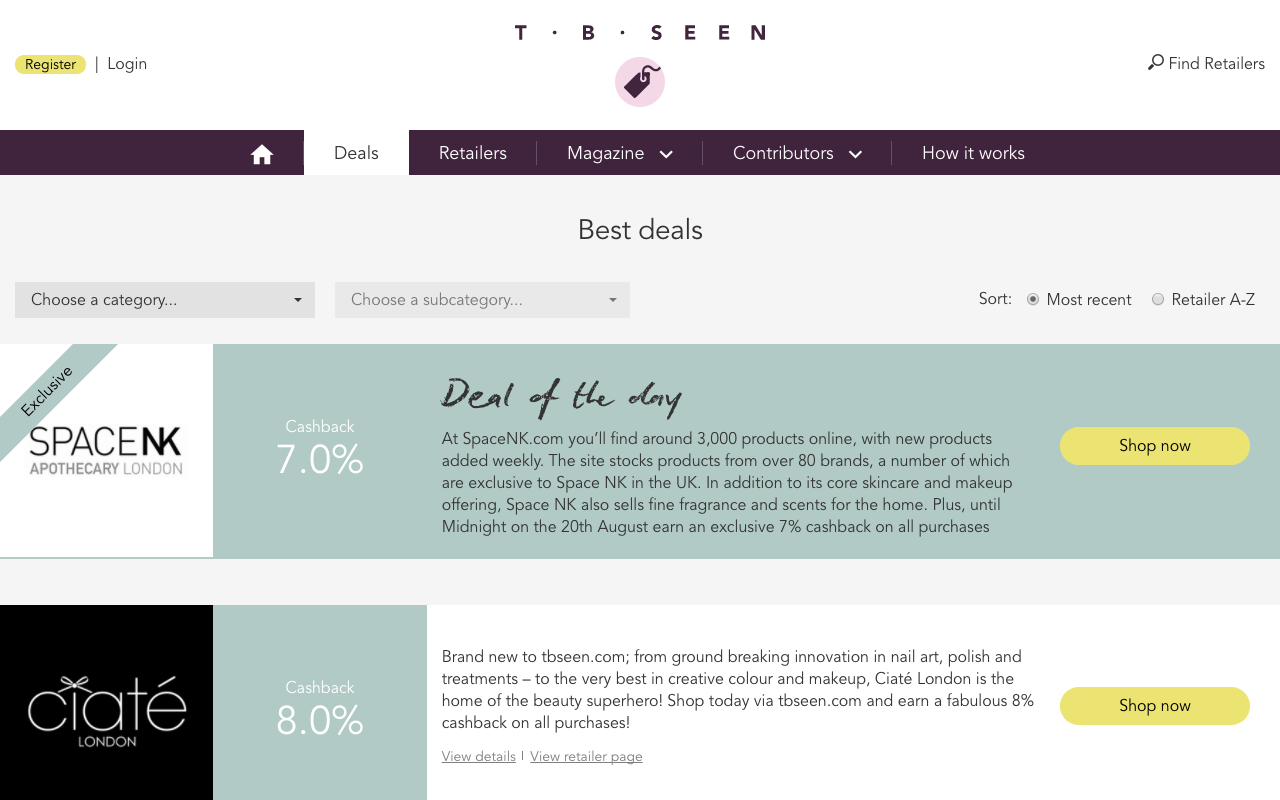 UK Retail Project using Python, Flask and Node.js - TBseen - Case Study