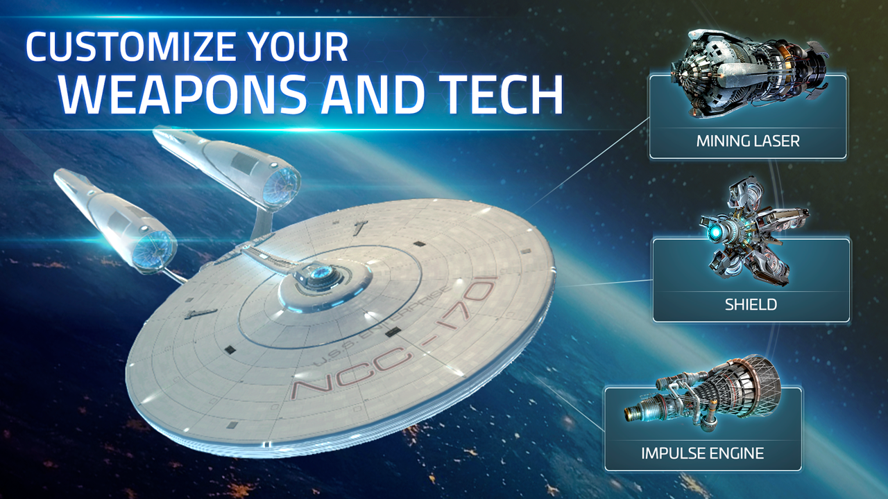 Free to play Star Trek Strategy Mobile Game Development Team Extension - DIGIT Game Studios - Case Study